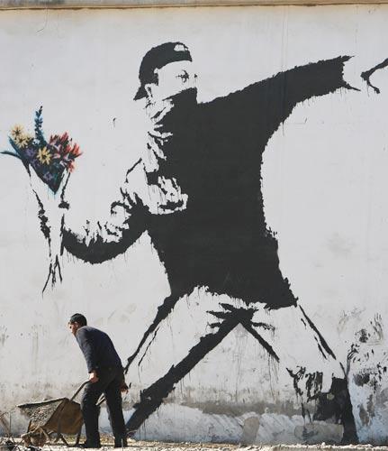 Banksy inspire 30 Seconds To Mars Banksy10