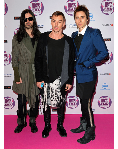 The Worst-Dressed Man in the World 2011 is Jared Leto d'après GQ Jared-15