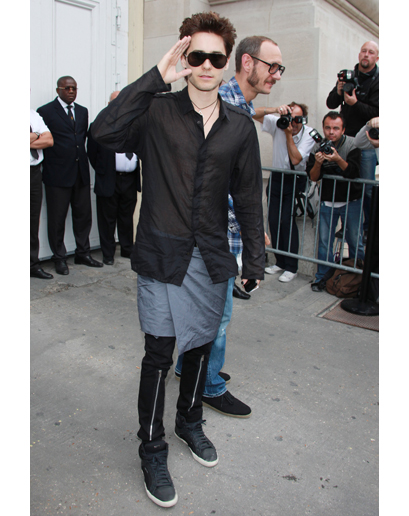 The Worst-Dressed Man in the World 2011 is Jared Leto d'après GQ Jared-17