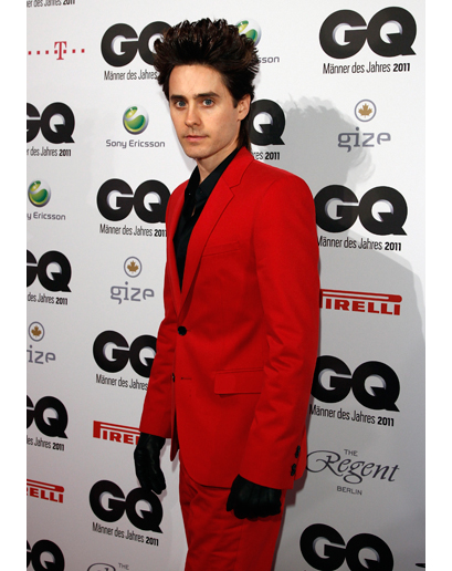 The Worst-Dressed Man in the World 2011 is Jared Leto d'après GQ Jared-18