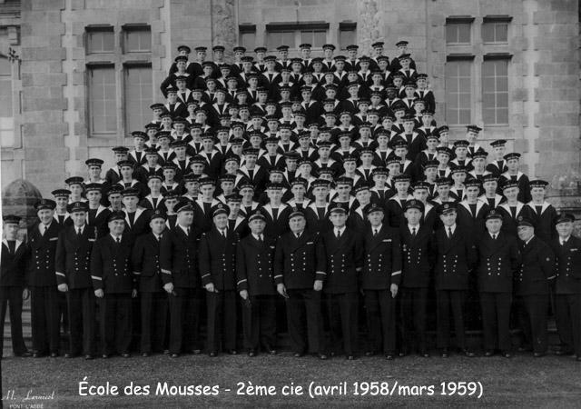 [ École des Mousses ] 2ème Cie Avril 58 - Mars 59 1958_010