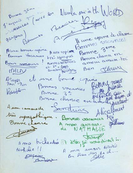 Les p'tits mots sur les cahiers de texte et les agendas ... Carnet10