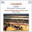 Chabrier: opéras et musique vocale 21grbh10