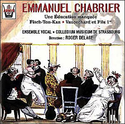 Chabrier: opéras et musique vocale 33254810
