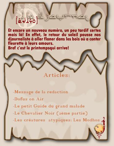 Livraison à Domicile du Djaurnal Edito311