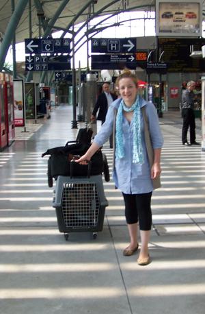 Arrivée de TCHARA (17 juin 2008) Arrive10