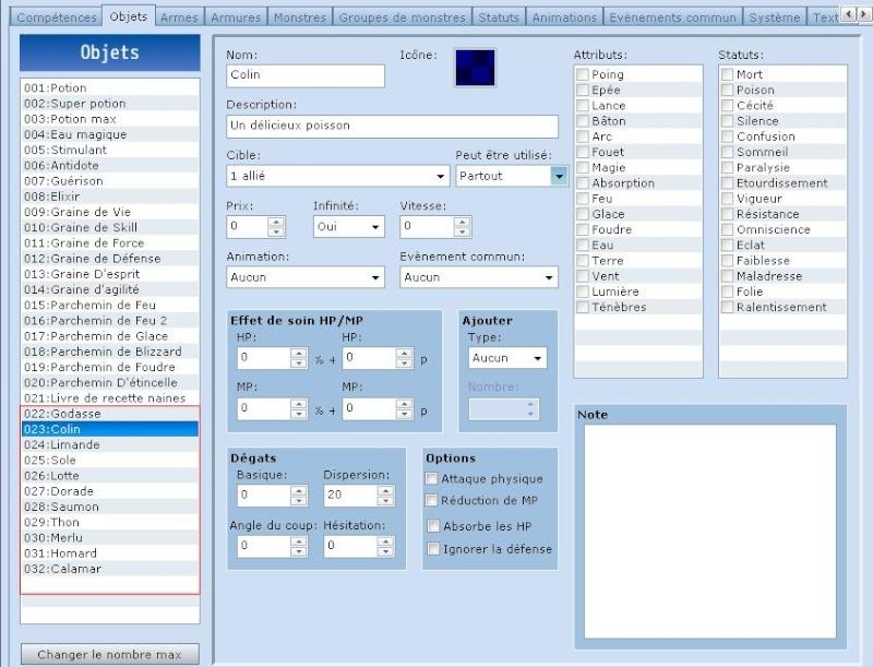 A la pêche dans RPG Maker VX. Peche110