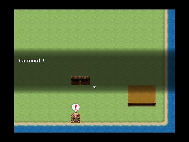 A la pêche dans RPG Maker VX. Peche310