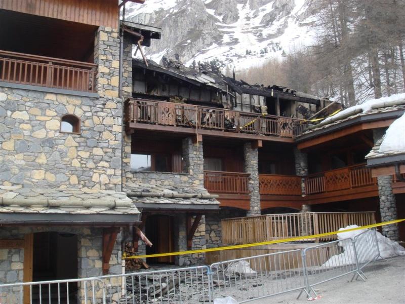 [ValIsère]Incendie à Val d'Isère Dsc06110