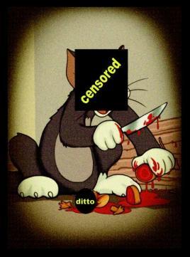 Брутално се убиени цртани јунаци 414
