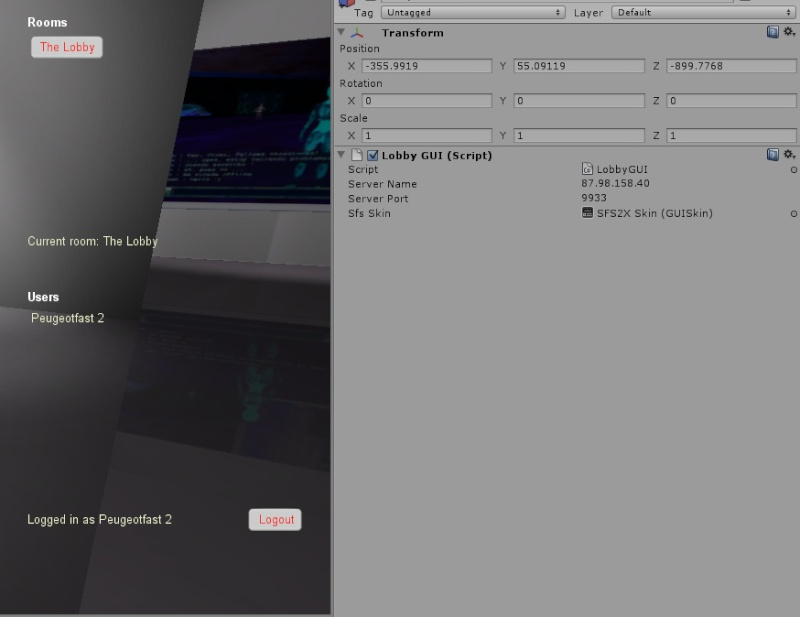World 1.0 Mixed3d enfin disponible sur Unity Server11