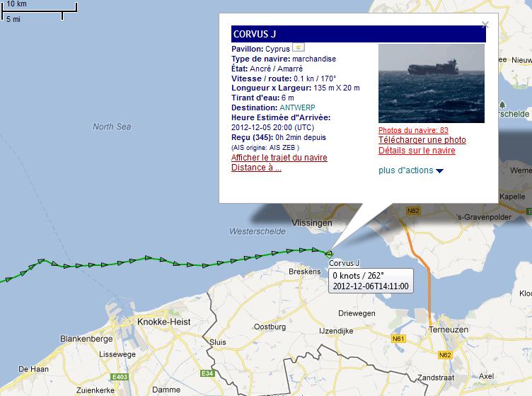 Dramatique collision entre un roulier et un porte-conteneurs 06_12_19