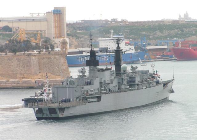 Type 22 Class frigate 11705311