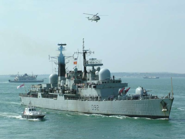 Type 42 Class destroyer 26091310