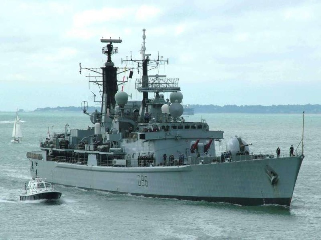 Type 42 Class destroyer 26862310