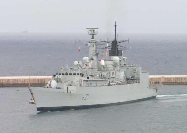 Type 22 Class frigate 35038910