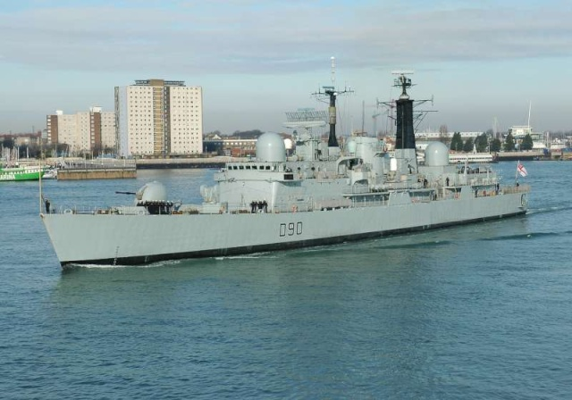 Type 42 Class destroyer 3507710