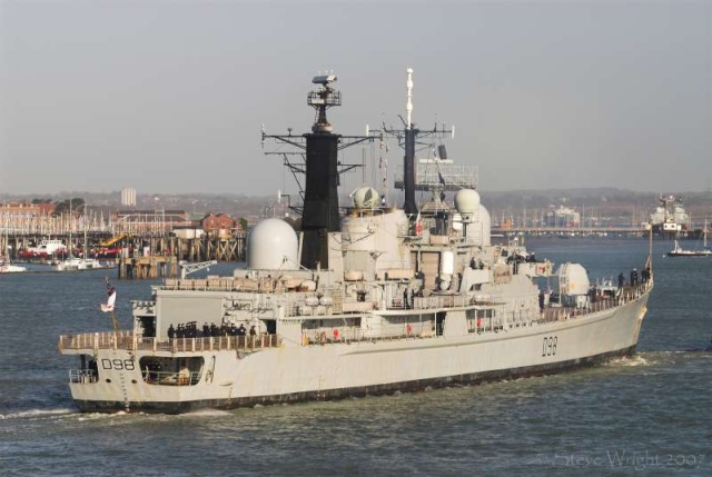 Type 42 Class destroyer 37199810