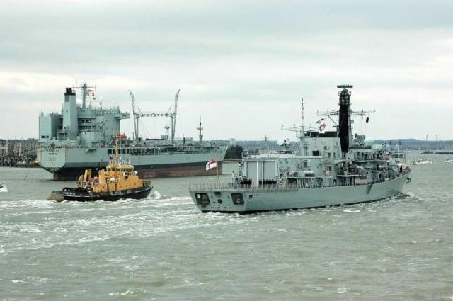 Type 23 Class frigate 37966410