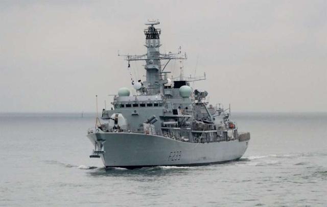 Type 23 Class frigate 41033110