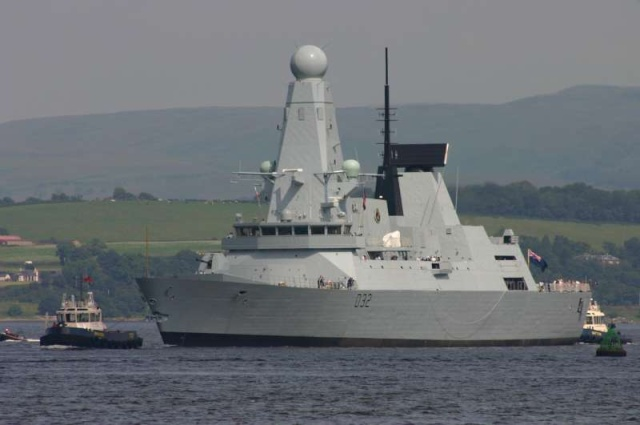 Type 45 Class destroyer 45885410