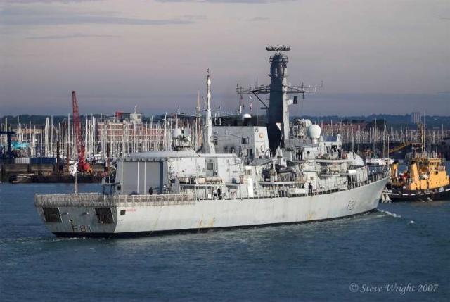 Type 23 Class frigate 49650310