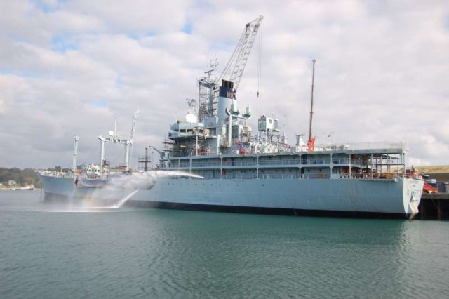RFA : Royal Fleet Auxiliary 52103610