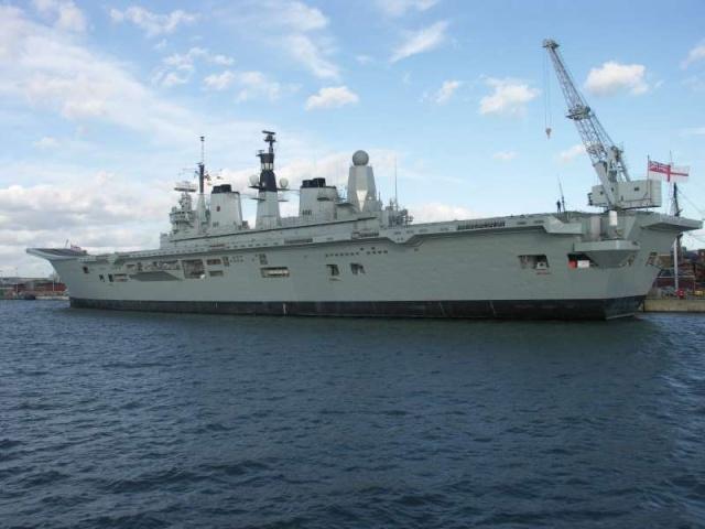 Aircraft Carriers (HMS Ark Royal & HMS Illustrious) 52542910