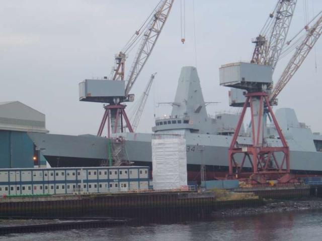 Type 45 Class destroyer 53692410