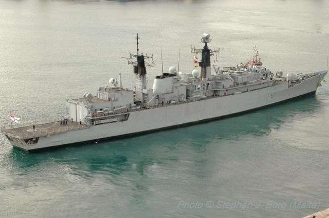 Type 22 Class frigate 53739611
