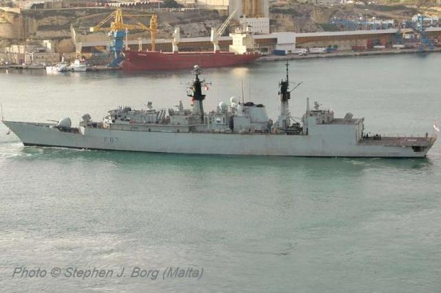 Type 22 Class frigate 53739810