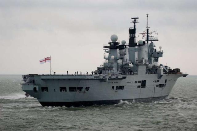 Aircraft Carriers (HMS Ark Royal & HMS Illustrious) 57230210