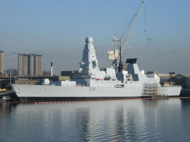 Type 45 Class destroyer 58830310