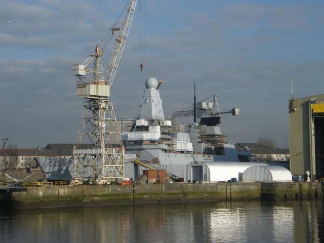 Type 45 Class destroyer 58830710