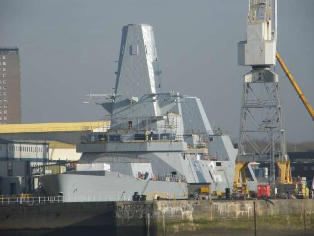 Type 45 Class destroyer 58830910