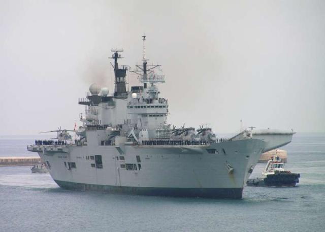 Aircraft Carriers (HMS Ark Royal & HMS Illustrious) 59160710