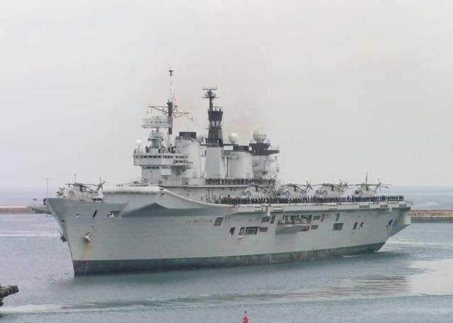 Aircraft Carriers (HMS Ark Royal & HMS Illustrious) 59161010