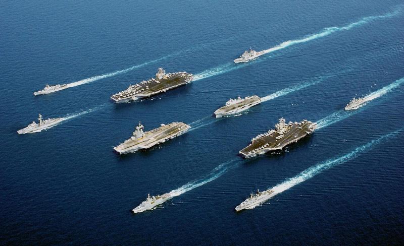 Multinational fleet & exercices Multi_12