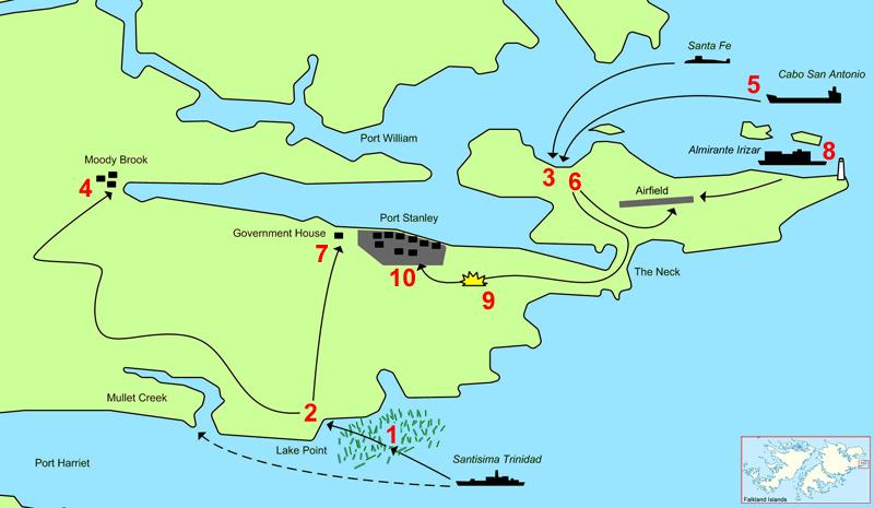 [dossier] La guerre des Malouines Operat10