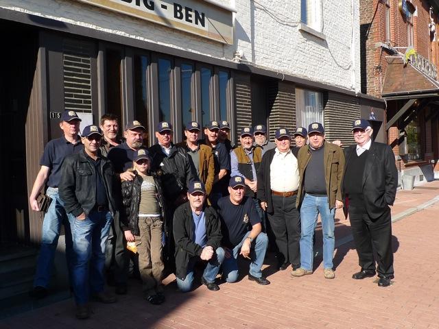 Remise des casquettes au Big Ben le 15.10.11 P1030525