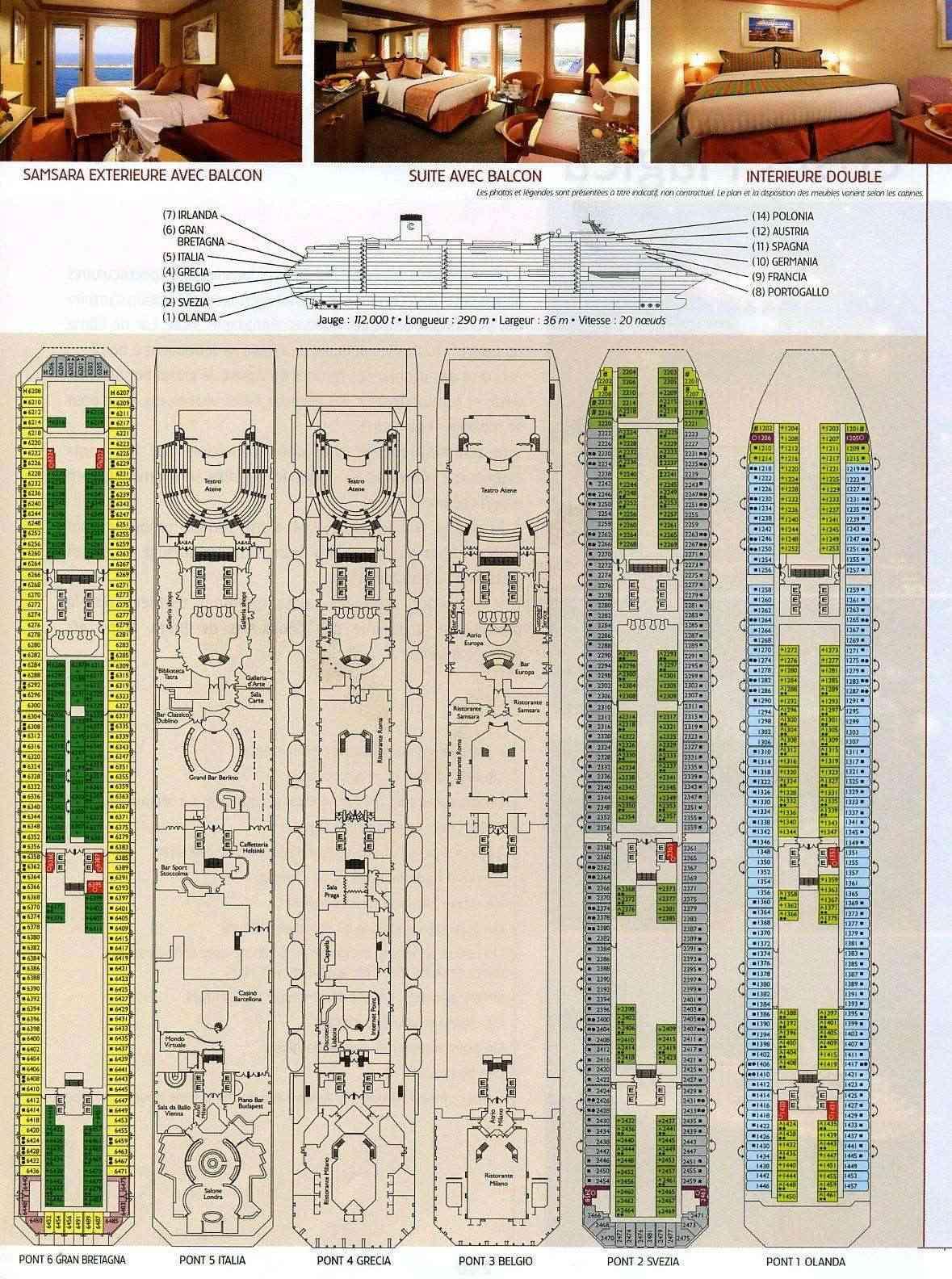 Bateau de croisière Costa coule en Toscane (Italie) - Page 2 Trajet10