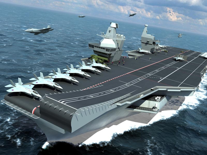 Aircraft Carrier (HMS Queen Elizabeth & HMS Prince of Wales) Tserve10