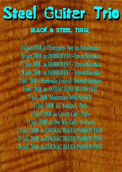 STEEL GUITAR TRIO TOUR 2008 Tourli10