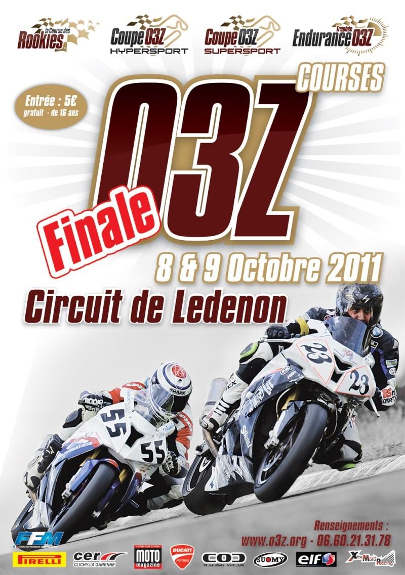 Finale O3Z au Circuit du Ledenon 8 et 9 Octobre Affich10