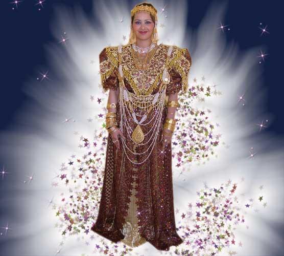 ازياء العروس الجزائرية 081210