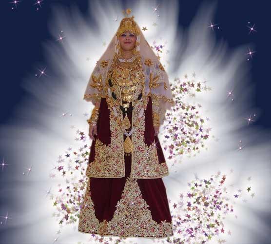 ازياء العروس الجزائرية 141110