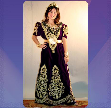 ازياء العروس الجزائرية 181010