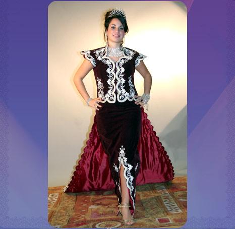 ازياء العروس الجزائرية 231010