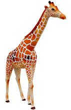 poupée en tissu manga Giraff10