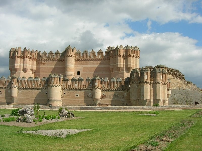 Castillo de Coca Dscn2510